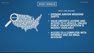 Want to work for the 2020 census in Oregon? Here's how.