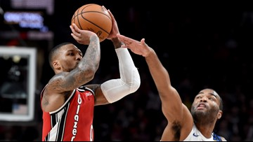 Damian Lillard named player of week after averaging 52.7 points in 3 games