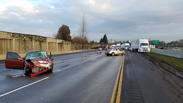 Gresham man killed in crash that closed I-5 southbound in
