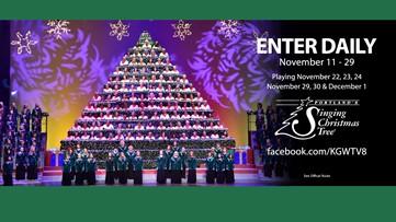 Portland's Singing Christmas Tree Sweepstakes