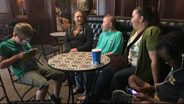 Kids with disabilities flying home to Portland stranded at North Carolina  airport