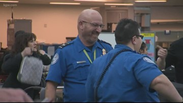 TSA workers speak out at PDX on shutdown