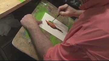 Former Ducks star athlete now a star artist