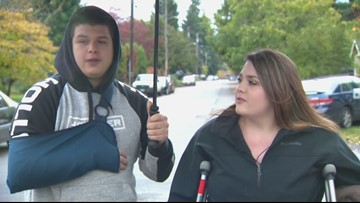 'He just ran them over': SE Portland couple describes being deliberately hit by driver who fled
