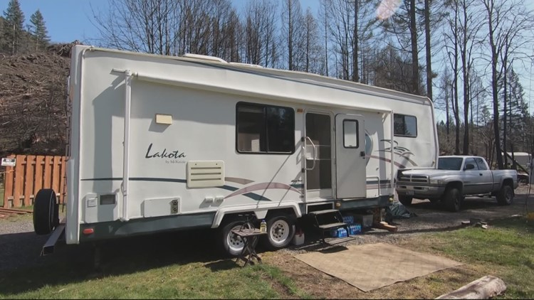 RV donated to Detroit couple who survived wildfire
