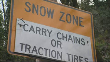 ODOT warns of dangerous road conditions
