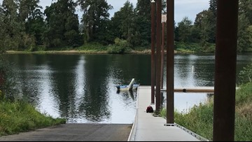 Kayaker rolls pickup into Willamette River after brake failure