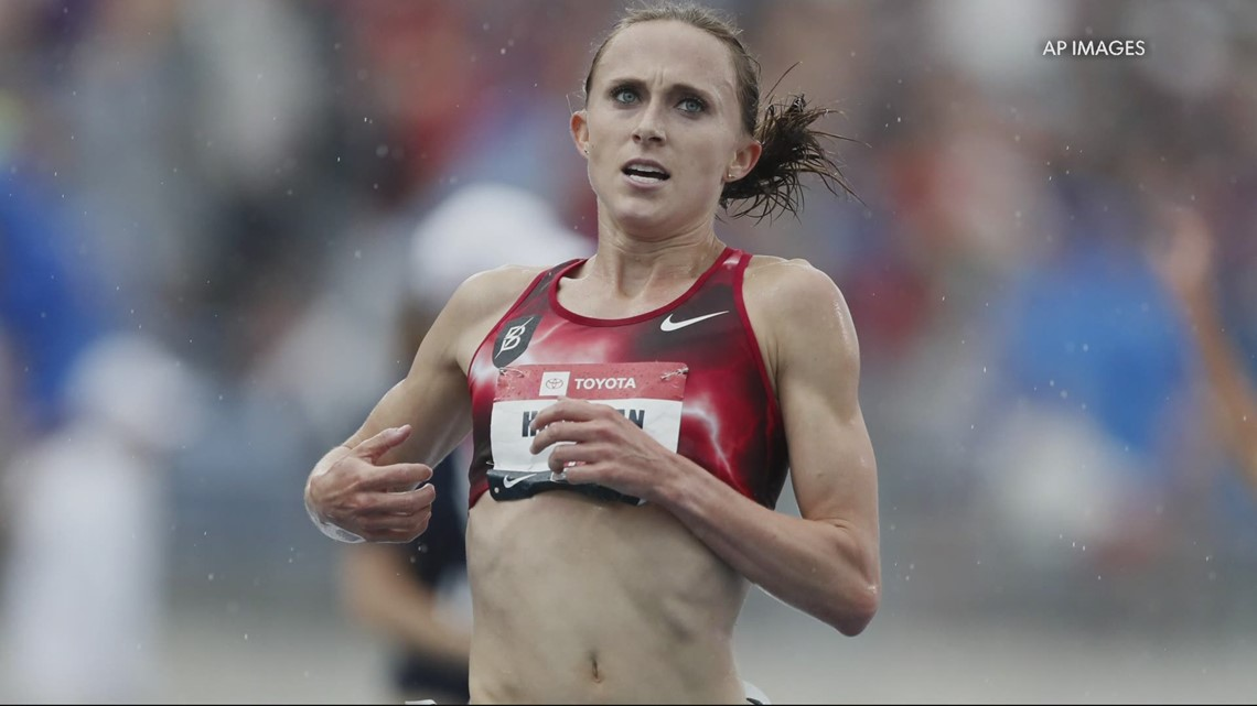 Olympic runner said she was disqualified because of a pork burrito