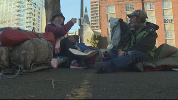 The homelessness problem is growing in Oregon