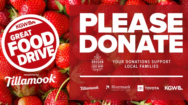 KGW launches the 16th annual KGW Great Food Drive