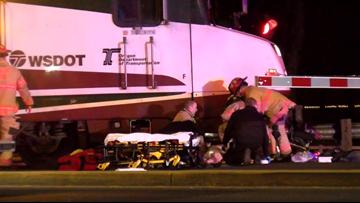 Man in wheelchair struck by Amtrak train in Salem, police say