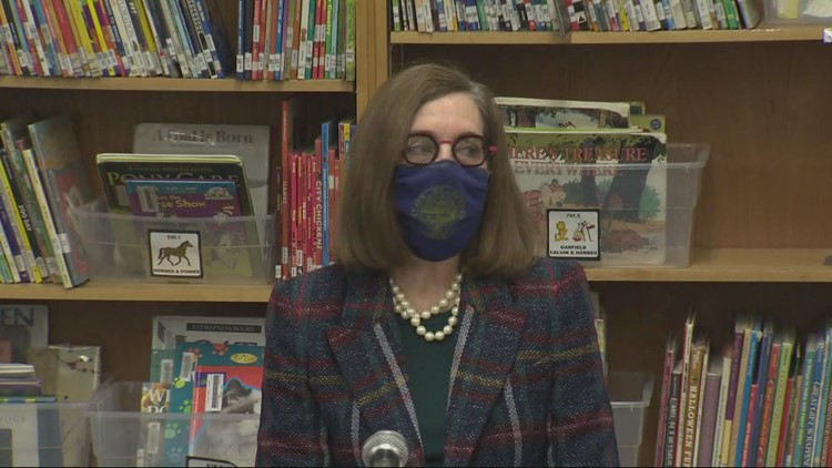 Governor says she did not order schools open because of GOP walkout