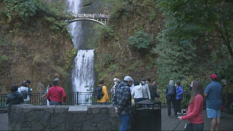 Larch Mountain Trail at Multnomah Falls closing for six weeks of trail repairs