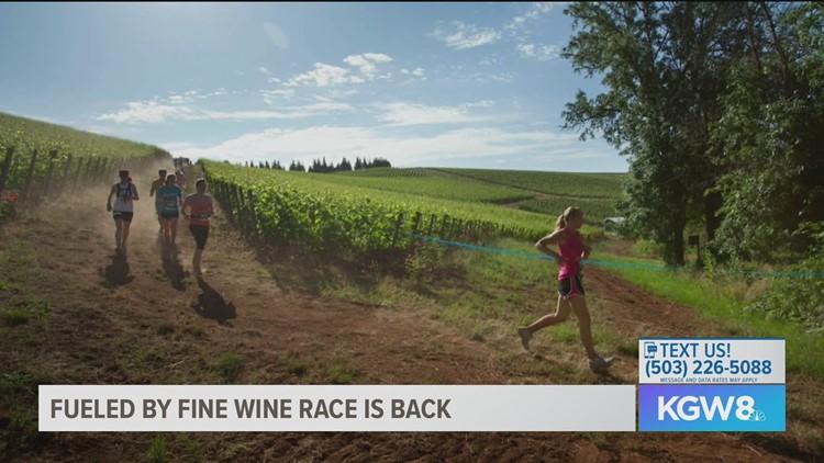 Race takes runners through Oregon vineyards