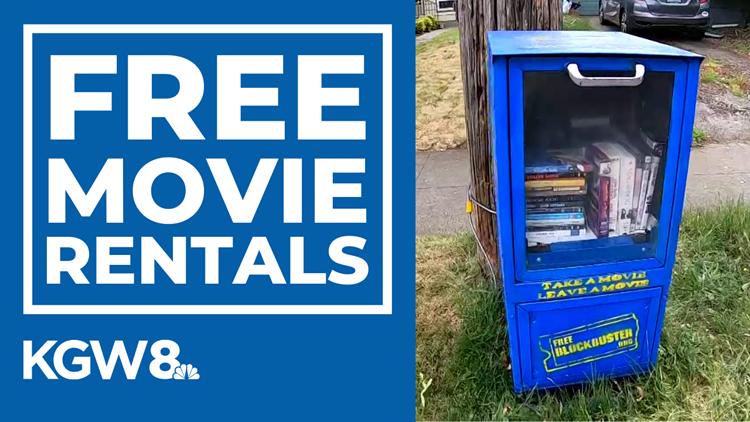'Free Blockbuster' neighborhood movie libraries popping up across Portland