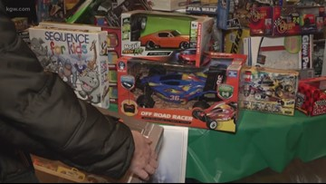 'It takes a real heavy load off my back': Thousands of families hand-pick gifts through KGW Great Toy Drive