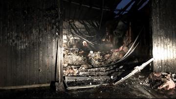 Fire destroys a Washougal laundromat