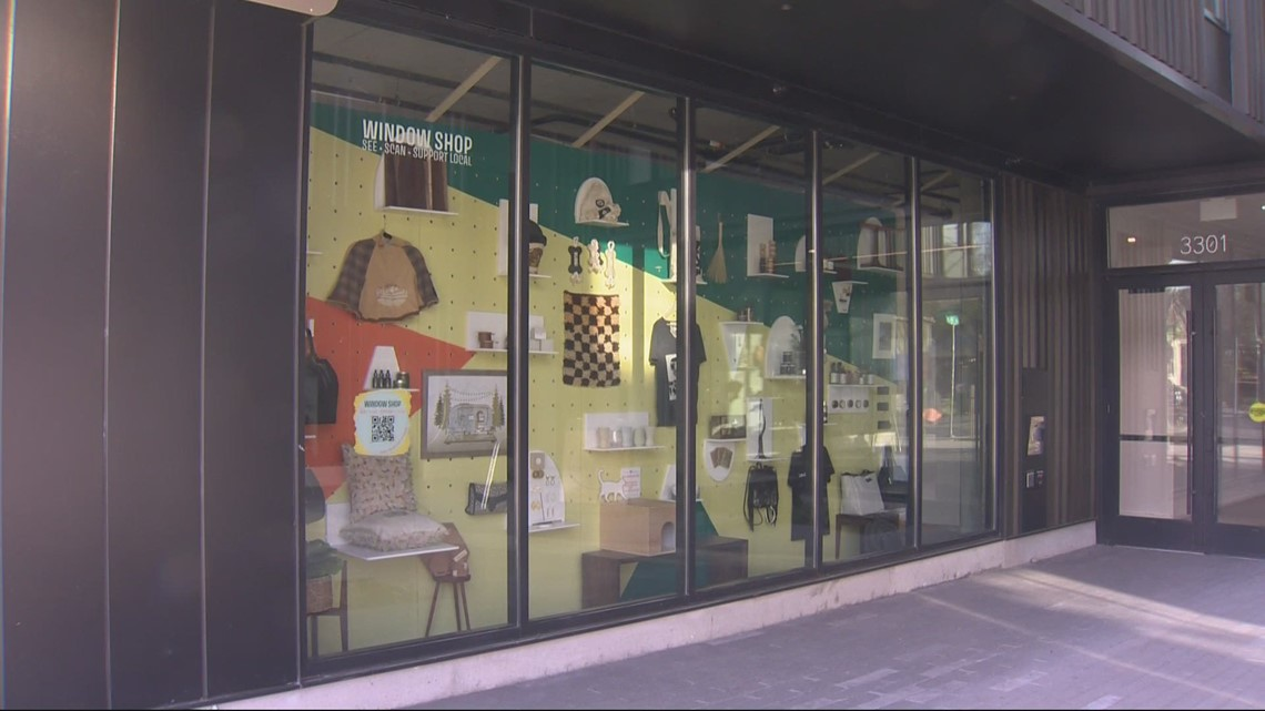 'PDX Window Shop' helps local businesses