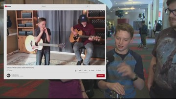 This kid 'School of Rock' star plays 5 instruments