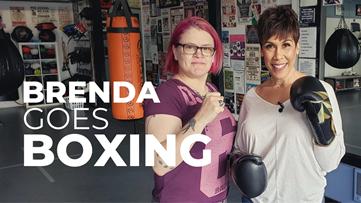 World champion boxer puts Brenda Braxton in the ring