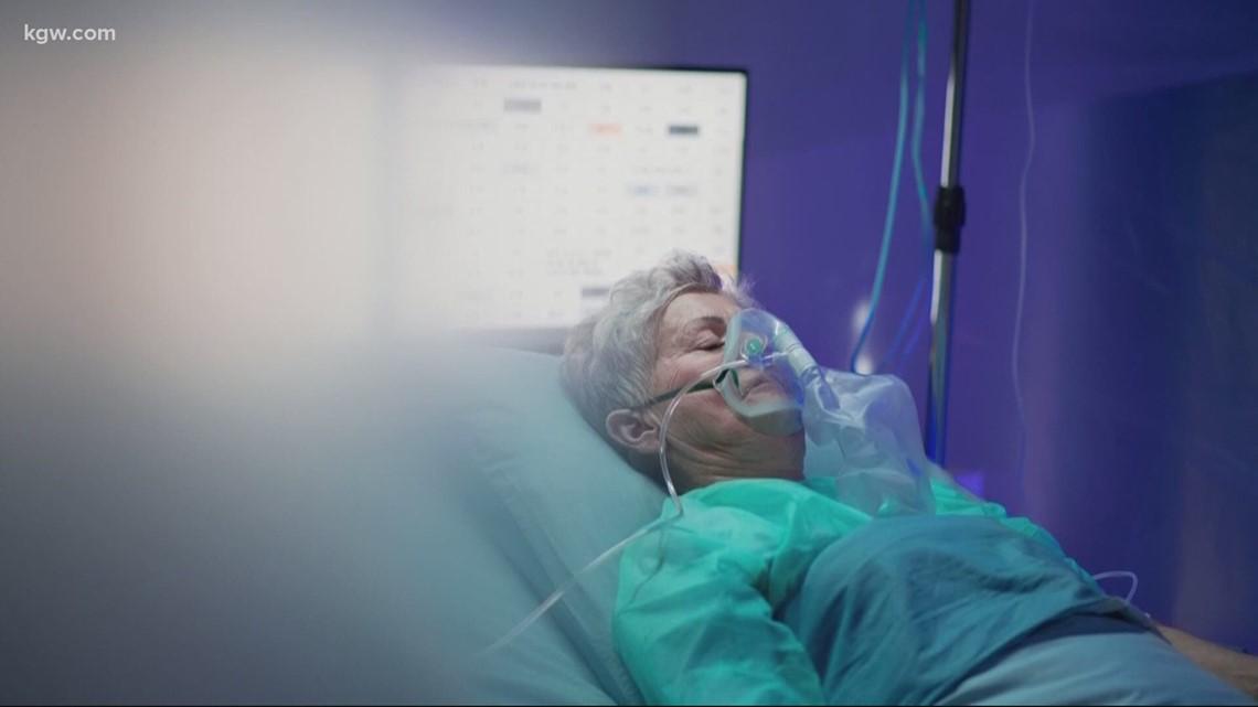 'Stay home, please': COVID-19 ICU nurse nervous about hospitalization surge in Oregon - KGW.com