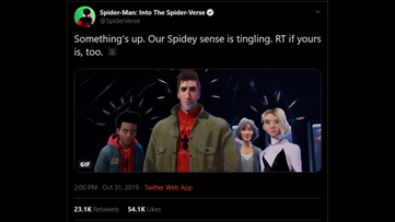 Are your spidey senses tingling?
