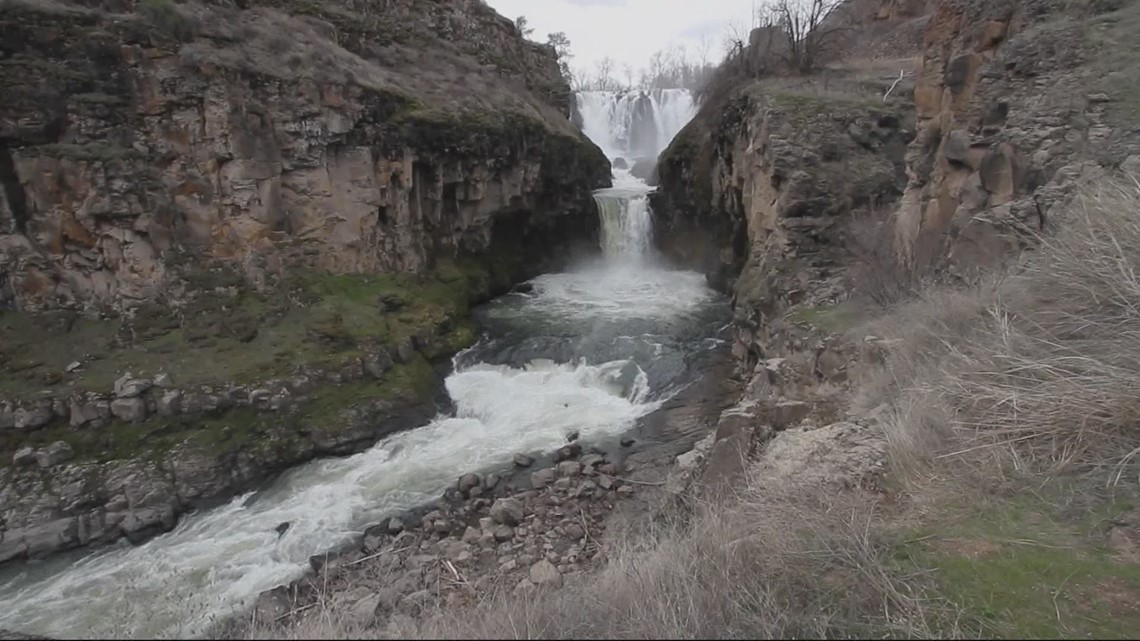 Grant's Getaways: Waterfalls and wildlife at White River