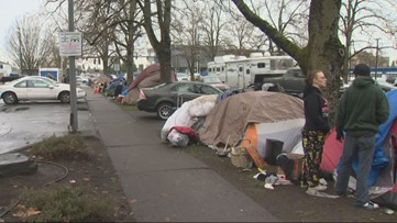 'I want to be invisible': After efforts to help homeless failed, Salem considers banning sitting on sidewalks