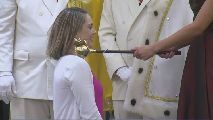Cassidy becomes a Dame with the Royal Rosarians