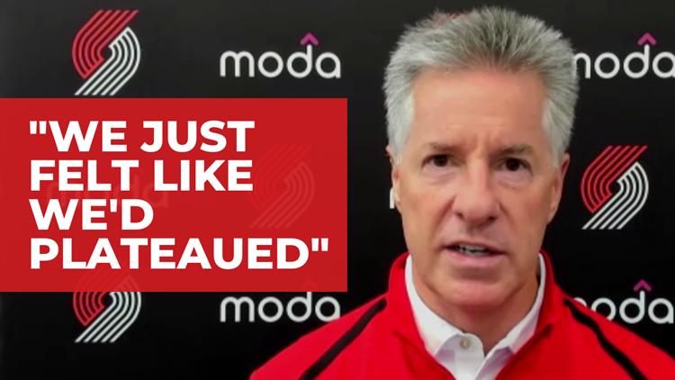 Watch: Neil Olshey speaks about Blazers offseason