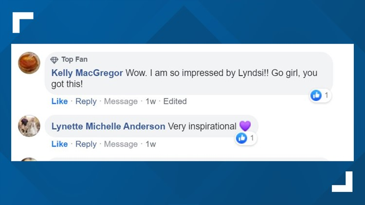 Viewers react to Lyndsi's story