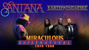 Carlos Santana and Earth, Wind & Fire coming to Portland area this summer