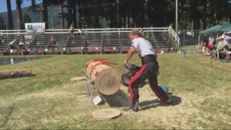 Professional lumberjack events return