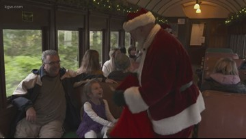 Grant's Getaways: Taking the Santa train
