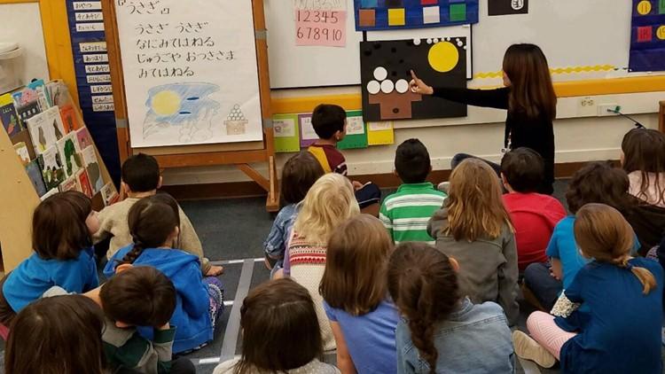 32 years of Japanese language program at Portland elementary school