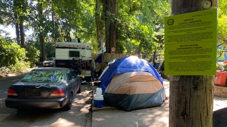 After months of buildup, city vows to clear homeless camp at Laurelhurst Park