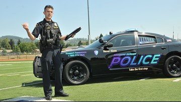 Tricked-out police cruiser promotes suicide prevention in Newberg-Dundee