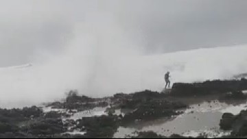 Video shows danger of King Tides on Oregon Coast
