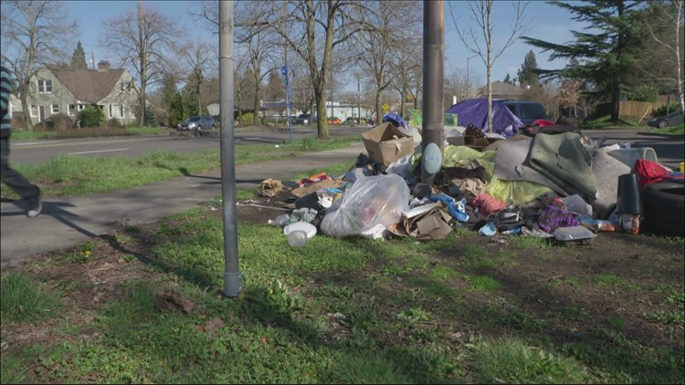 Why doesn't Portland put large dumpsters near homeless camps?