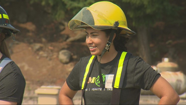 Fire camp aims to recruit more women firefighters