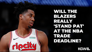 Are the Portland Trail Blazers really going to 'stand pat' at the trade deadline?