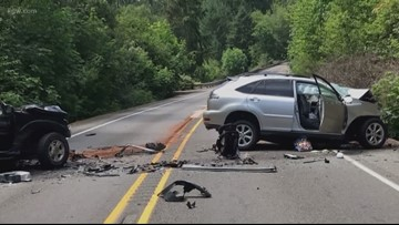 Two die in Marion County crash, including mother of 4-year