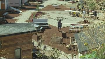 Agape Village, Portland's newest homeless hamlet, opening soon