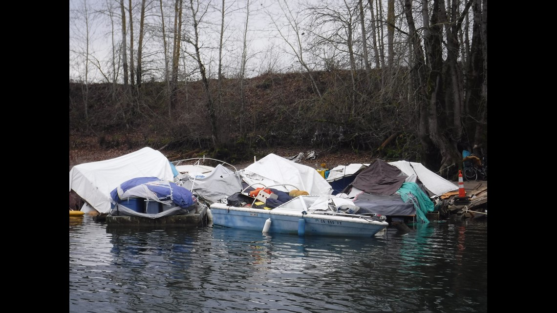 Transient boats now populating, sinking in Columbia River | kgw com