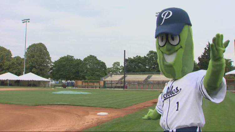Media day for Portland Pickles baseball