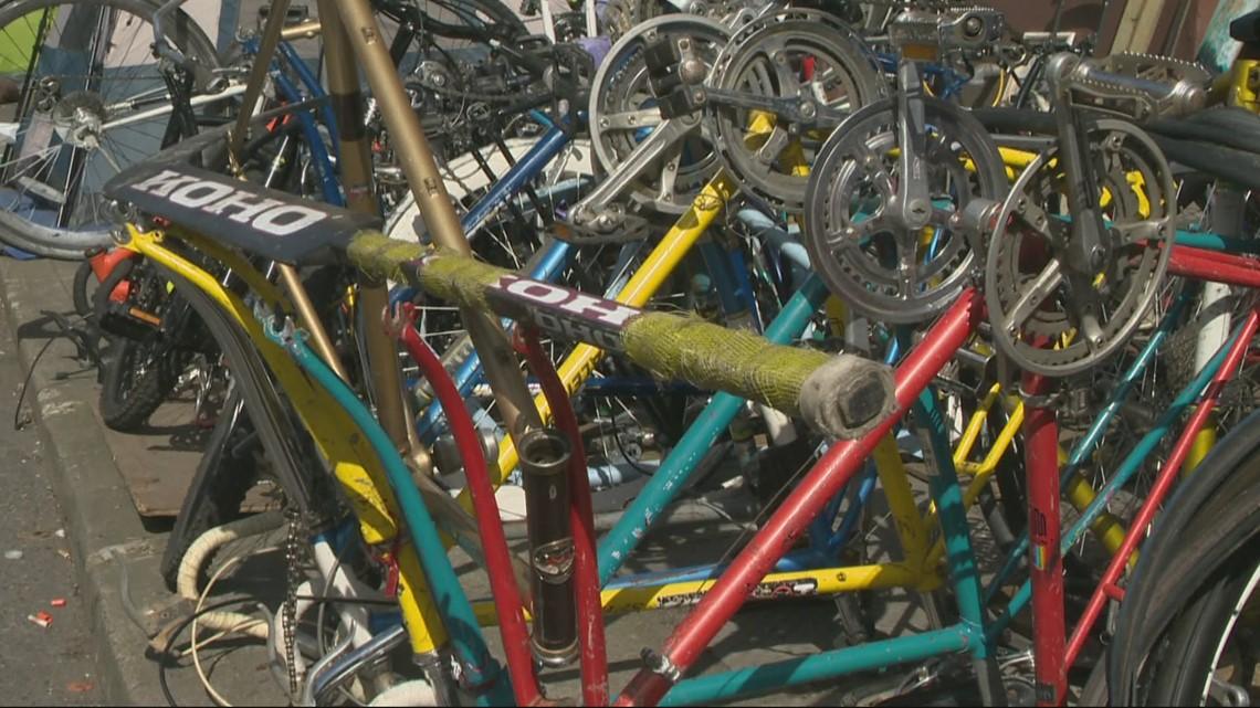 Portland's Bike Theft Task Force eliminated