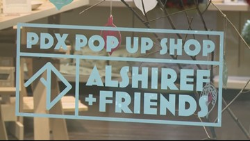 Holiday pop-up shop opens at Pioneer Place in downtown Portland