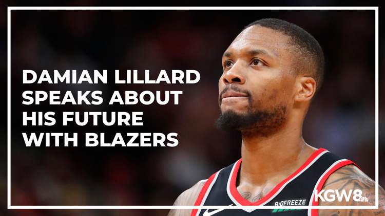 Damian Lillard says trade report 'not true,' but he's made no 'firm decision' on future with Blazers
