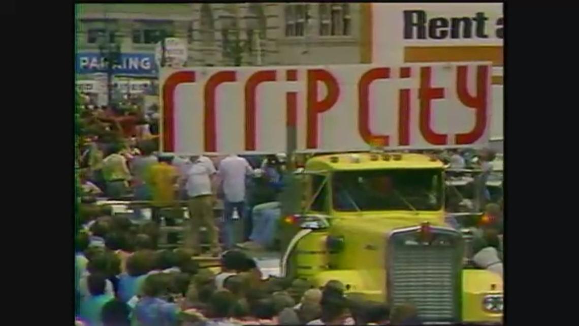 1977: 'Blazer Day' celebration of Portland's NBA Championship