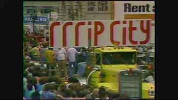 1977: 'Blazer Day' celebration of Portland's NBA Championship